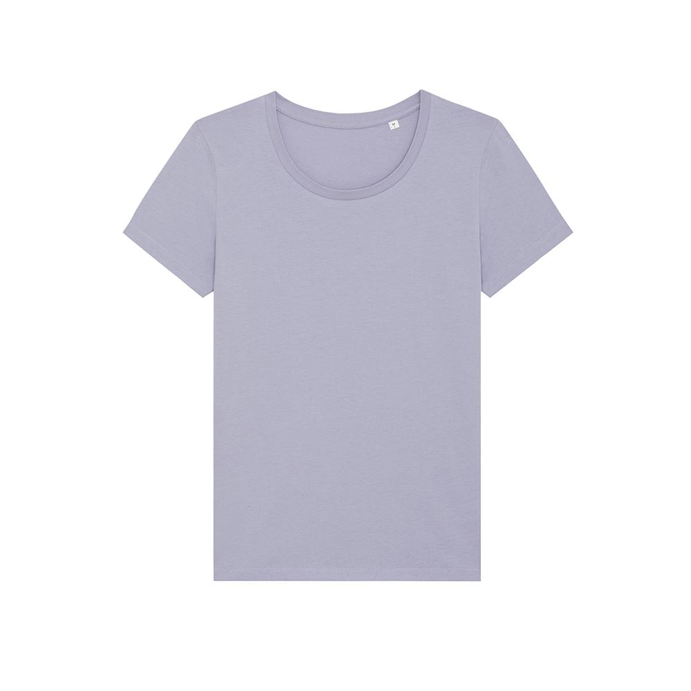 Koszulki T-Shirt - Damski T-shirt Stella Expresser - STTW032 - Lavender - RAVEN - koszulki reklamowe z nadrukiem, odzież reklamowa i gastronomiczna
