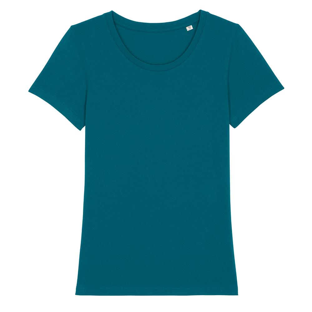 Koszulki T-Shirt - Damski T-shirt Stella Expresser - STTW032 - Ocean Depth - RAVEN - koszulki reklamowe z nadrukiem, odzież reklamowa i gastronomiczna