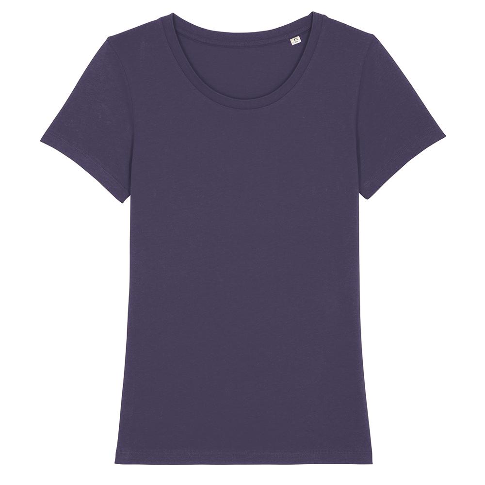 Koszulki T-Shirt - Damski T-shirt Stella Expresser - STTW032 - Plum - RAVEN - koszulki reklamowe z nadrukiem, odzież reklamowa i gastronomiczna