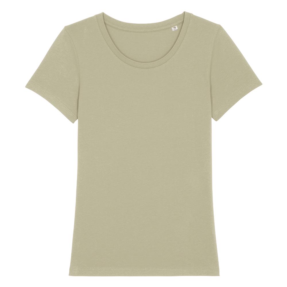 Koszulki T-Shirt - Damski T-shirt Stella Expresser - STTW032 - Sage Green - RAVEN - koszulki reklamowe z nadrukiem, odzież reklamowa i gastronomiczna