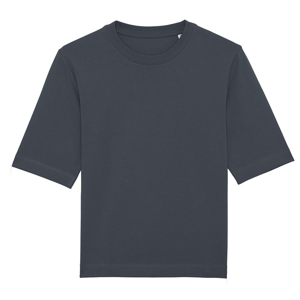 Koszulki T-Shirt - Damski t-shirt Stella Fringer - STTW054 - India Ink Grey - RAVEN - koszulki reklamowe z nadrukiem, odzież reklamowa i gastronomiczna