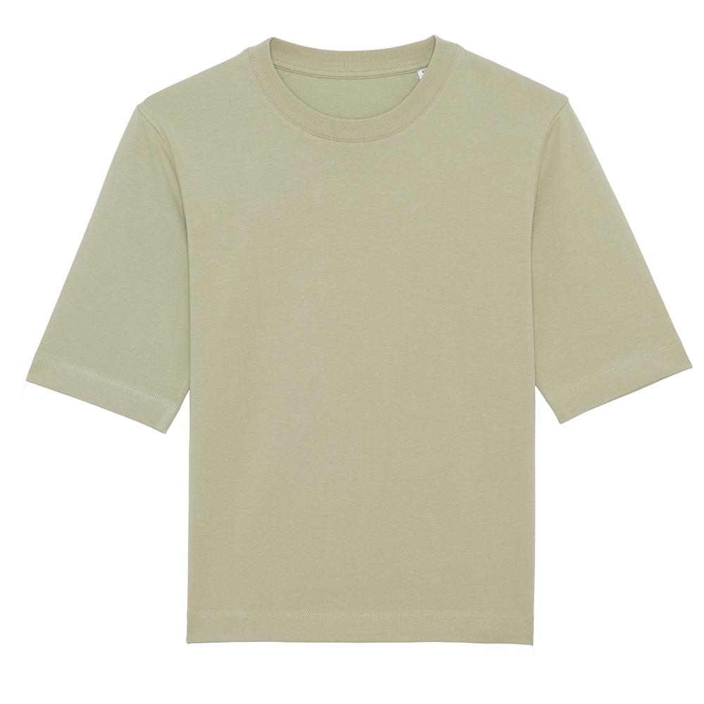 Koszulki T-Shirt - Damski t-shirt Stella Fringer - STTW054 - Sage Green - RAVEN - koszulki reklamowe z nadrukiem, odzież reklamowa i gastronomiczna