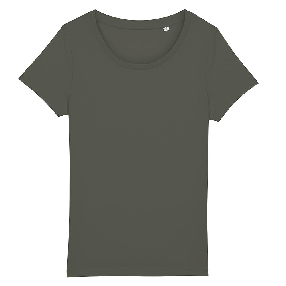 Koszulki T-Shirt - T-shirt damski Stella Jazzer - STTW039 - RAVEN - koszulki reklamowe z nadrukiem, odzież reklamowa i gastronomiczna