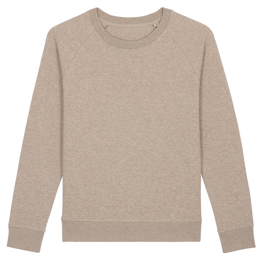 Bluzy - Damska Bluza Stella Tripster - STSW146 - Heather Sand - RAVEN - koszulki reklamowe z nadrukiem, odzież reklamowa i gastronomiczna