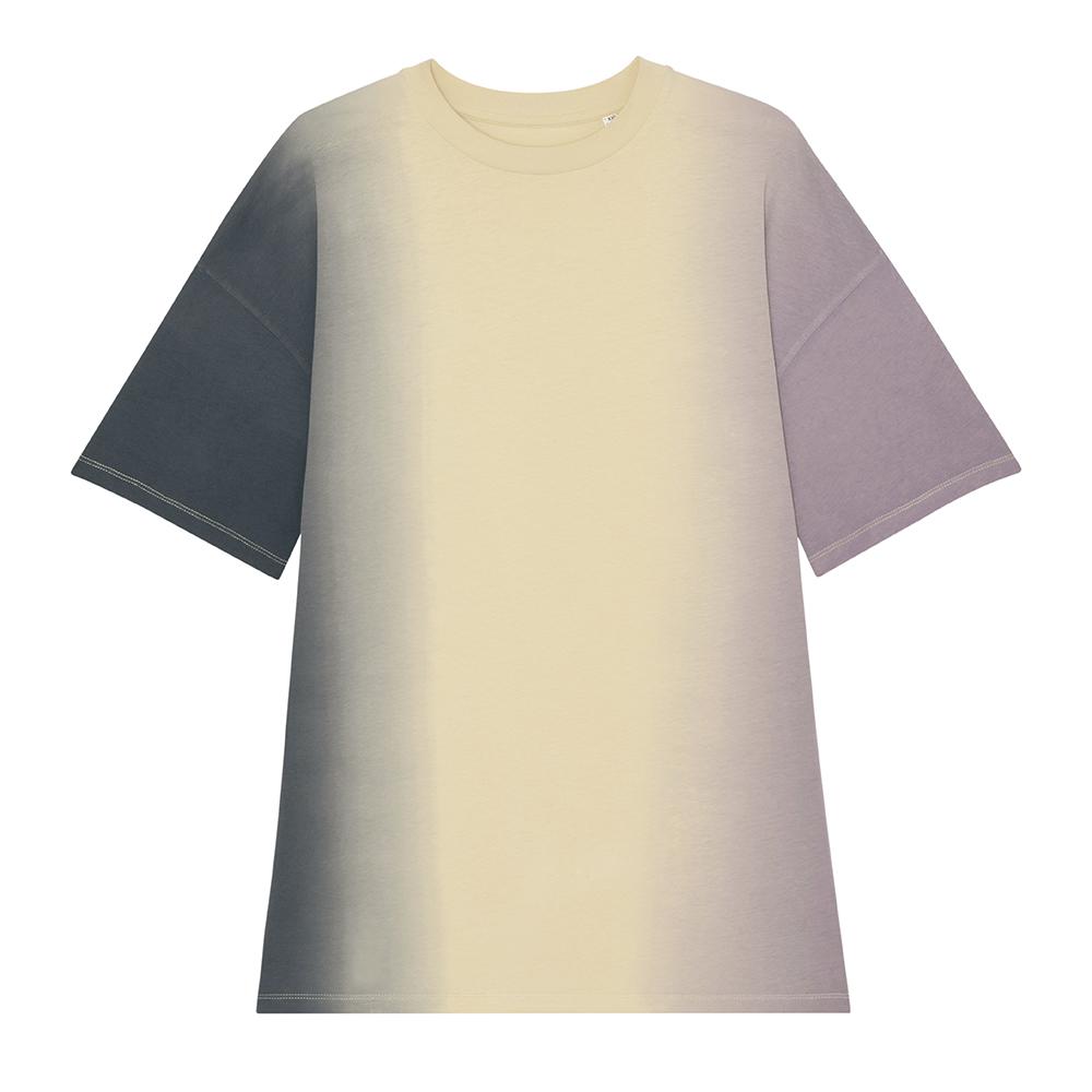 Koszulki T-Shirt - T-shirt-sukienka Stella Twister Dip Dye - STDW160 - RAVEN - koszulki reklamowe z nadrukiem, odzież reklamowa i gastronomiczna