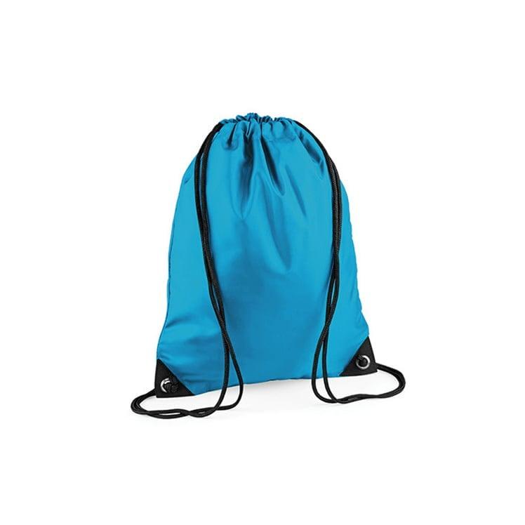 Torby i plecaki - Worek festiwalowy Premium - BG10 - Surf Blue - RAVEN - koszulki reklamowe z nadrukiem, odzież reklamowa i gastronomiczna