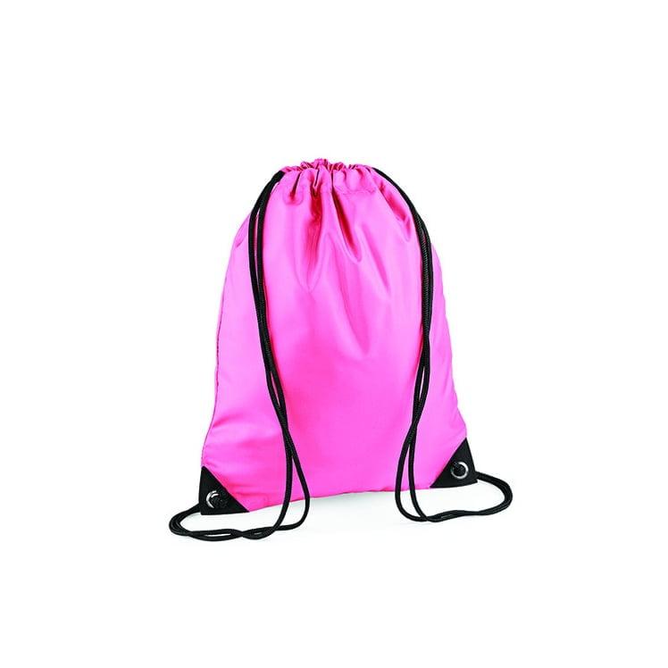 Torby i plecaki - Worek festiwalowy Premium - BG10 - True Pink - RAVEN - koszulki reklamowe z nadrukiem, odzież reklamowa i gastronomiczna