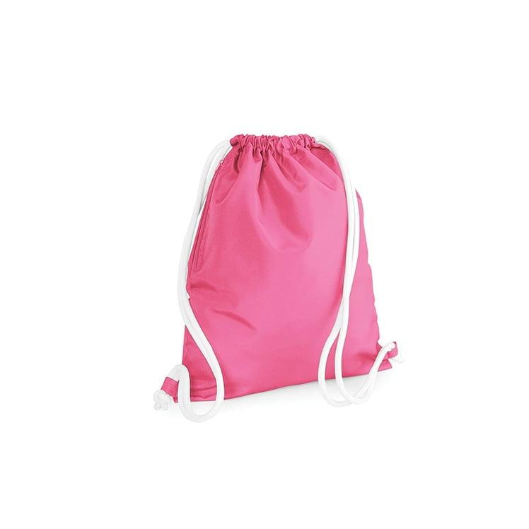 Torby i plecaki - Icon Gymsac - BG110 - True Pink - RAVEN - koszulki reklamowe z nadrukiem, odzież reklamowa i gastronomiczna