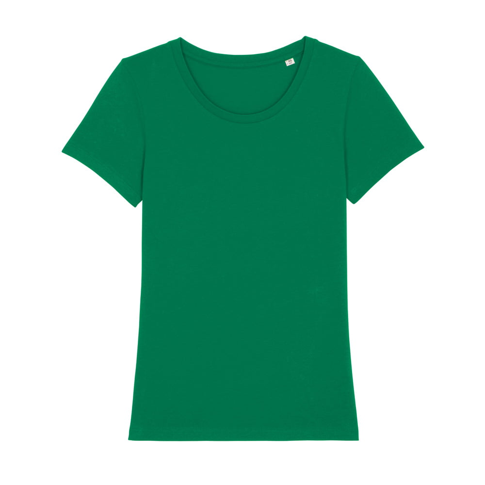 Koszulki T-Shirt - Damski T-shirt Stella Expresser - STTW032 - Varsity Green - RAVEN - koszulki reklamowe z nadrukiem, odzież reklamowa i gastronomiczna
