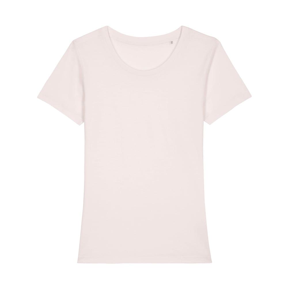 Koszulki T-Shirt - Damski T-shirt Stella Expresser - STTW032 - Vintage White - RAVEN - koszulki reklamowe z nadrukiem, odzież reklamowa i gastronomiczna
