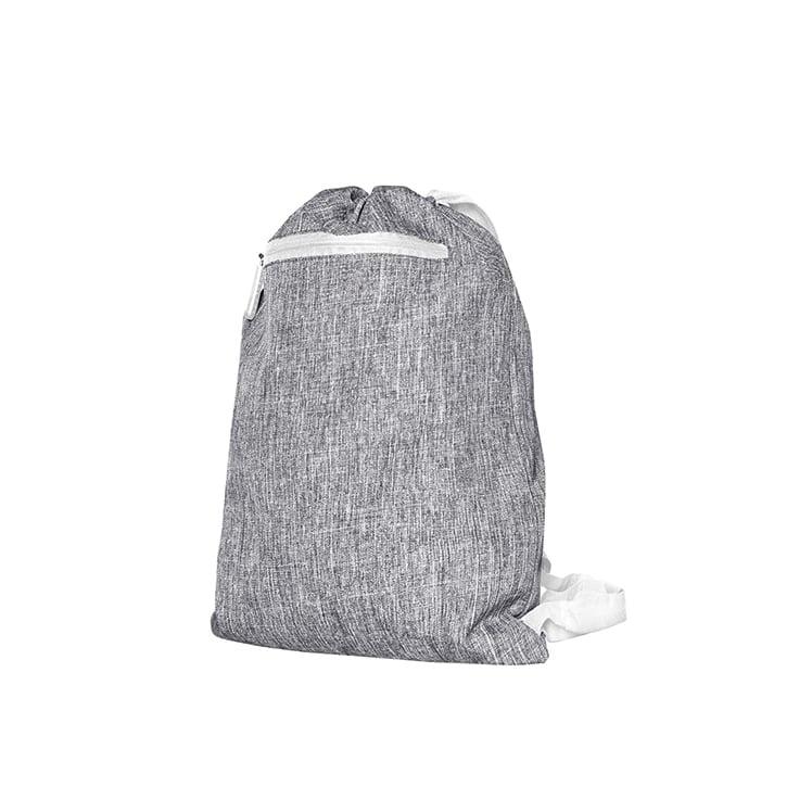 Torby i plecaki - Gymsac - Miami - DTG-15391 - Grey Melange/White - RAVEN - koszulki reklamowe z nadrukiem, odzież reklamowa i gastronomiczna