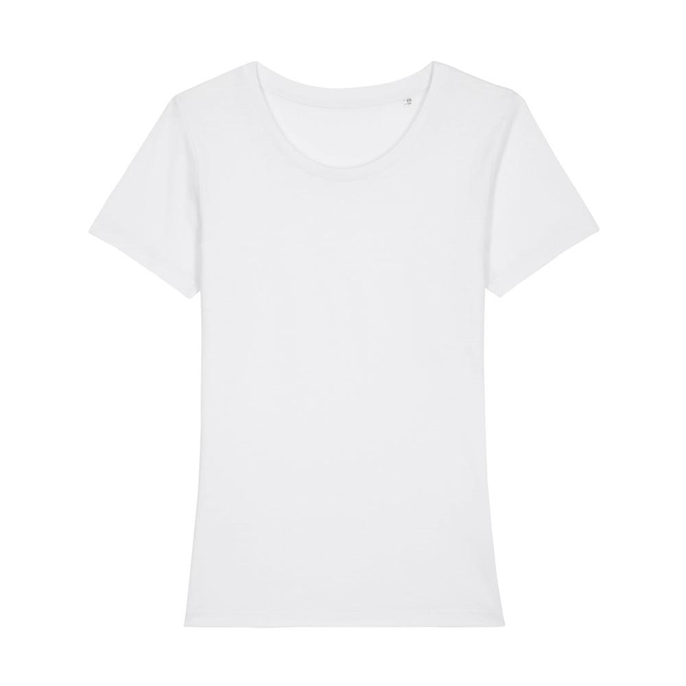 Koszulki T-Shirt - Damski T-shirt Stella Expresser - STTW032 - White - RAVEN - koszulki reklamowe z nadrukiem, odzież reklamowa i gastronomiczna