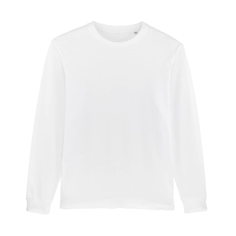 Koszulki T-Shirt - Męski Longsleeve Stanley Shifts Dry - STTM558 - White - RAVEN - koszulki reklamowe z nadrukiem, odzież reklamowa i gastronomiczna