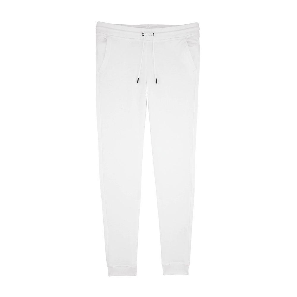 Spodnie - Damskie Spodnie Stella Traces - STBW129 - White - RAVEN - koszulki reklamowe z nadrukiem, odzież reklamowa i gastronomiczna