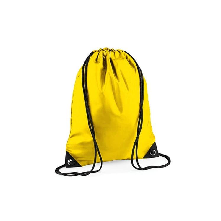 Torby i plecaki - Worek festiwalowy Premium - BG10 - Yellow - RAVEN - koszulki reklamowe z nadrukiem, odzież reklamowa i gastronomiczna