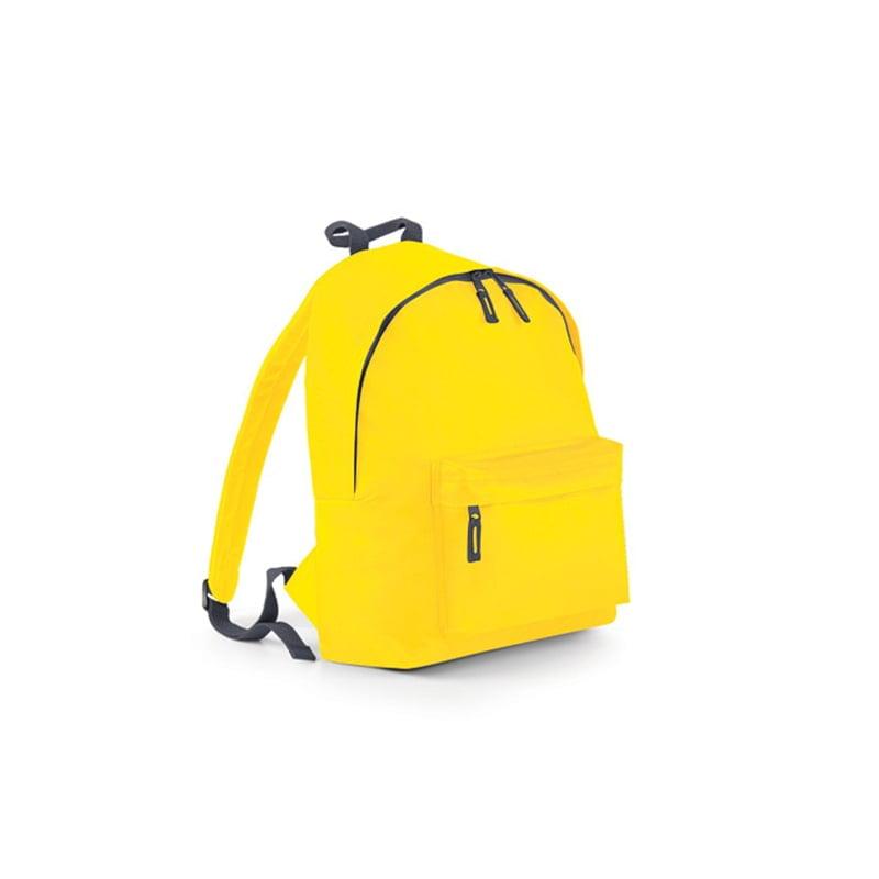 Torby i plecaki - Original Fashion Backpack - BG125 - Yellow - RAVEN - koszulki reklamowe z nadrukiem, odzież reklamowa i gastronomiczna