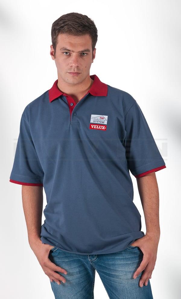 Koszulki polo z z nadrukiem i haftem dla firm - zdobienie odzieży firmowej