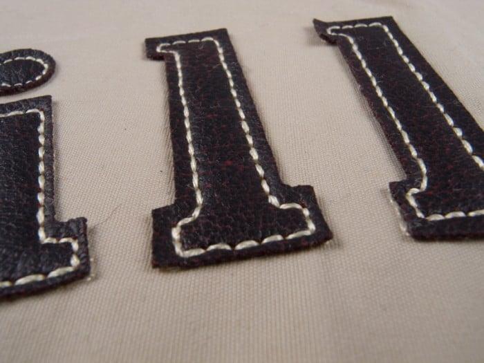 emblematy haftowane