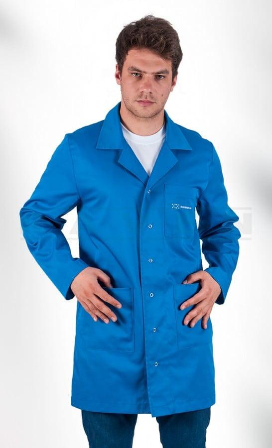 Fartuch roboczy niebieski - odzież robocza - blog - RAVEN