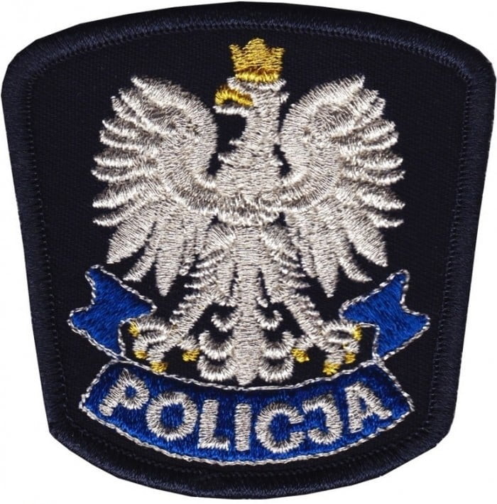 Policja - logo haftowane - producent RAVEN