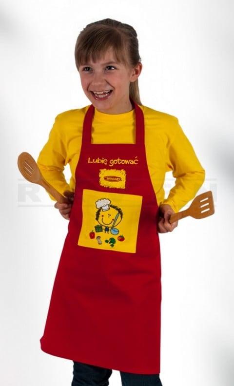 Odzież reklamowa dla dzieci - fartuszek, fartuszki kucharskie dla dzieci