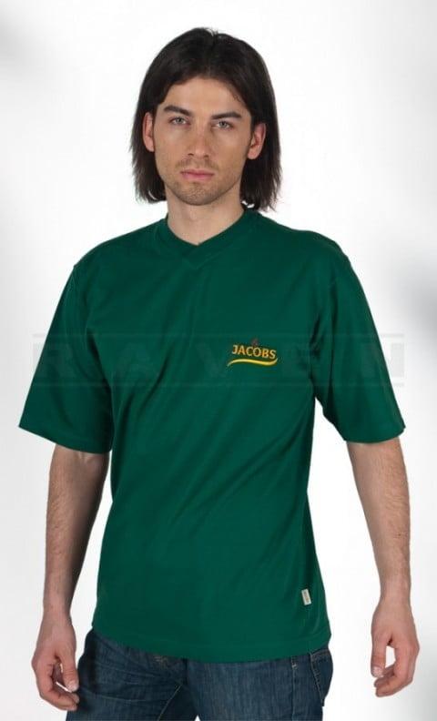 T-shirt z haftem reklamowym zielony - blog - RAVEN Koszulki T-shirt reklamowe z nadrukiem